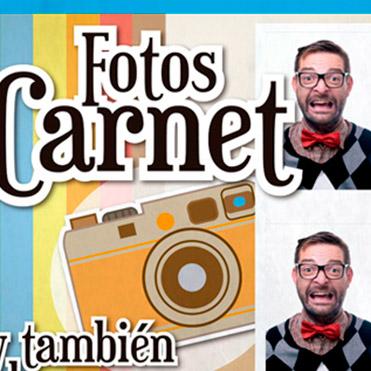 Carteles Foto Carnet